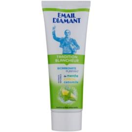 Email Diamant Tradition Blancheur bělicí zubní pasta s přírodními extrakty  75 ml
