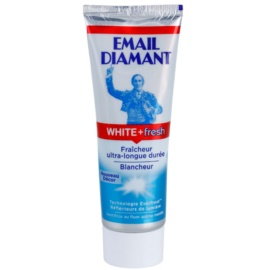 Email Diamant White + Fresh dentífrico branqueador para hálito fresco  75 ml