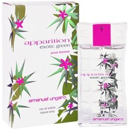 Emanuel Ungaro Apparition Exotic Green Eau de Toilette für Damen 30 ml