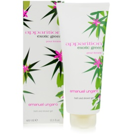 Emanuel Ungaro Apparition Exotic Green Duschgel für Damen 400 ml