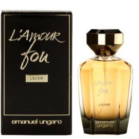Emanuel Ungaro L'Amour Fou L'Elixir Eau de Parfum für Damen 100 ml