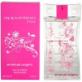 Emanuel Ungaro Apparition Pink Eau de Toilette pentru femei 90 ml