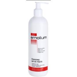 Emolium Wash & Bath krémový sprchový gél pre suchú a citlivú pokožku  400 ml