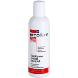 Emolium Wash & Bath P emulze do koupele s trojím účinkem  200 ml