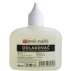 Enii Nails Care odlakovač na nehty bez acetonu  90 ml