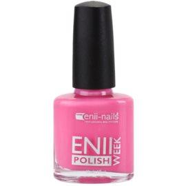 Enii Nails Week lakier bez użycia lampy UV/LED odcień El 21-07 (Pink Party) 15 ml