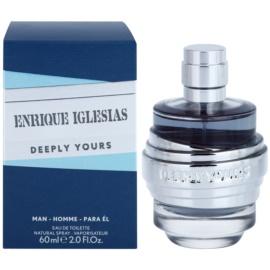 Enrique Iglesias Deeply Yours toaletna voda za moške 60 ml