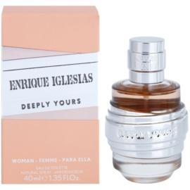 Enrique Iglesias Deeply Yours Eau de Toilette pentru femei 40 ml