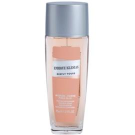 Enrique Iglesias Deeply Yours Deodorant spray pentru femei 75 ml