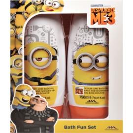 EP Line Minions dárková sada III.  sprchový a koupelový gel 2 x 150 ml