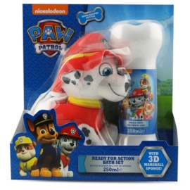 EP Line Paw Patrol Gift Set  II.  Douche en Bad Gel  250 ml + Wasspons  1 ks