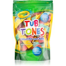EP Line Crayola Tub Tones barvne šumeče tablete za v kopel 15 x 10 g