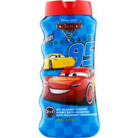 EP Line Cars 3 bagnoschiuma e shampoo 2 in 1 per bambini  475 ml
