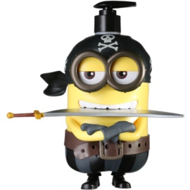 EP Line Minions 3D Pirate Duschgel & Shampoo 2 in 1 (135 x 145 x 215 mm) 500 ml