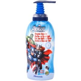 EP Line Los Vengadores espuma de baño y gel de ducha 2 en 1 para niños   1000 ml