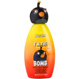 EP Line Angry Birds I'm the Bomb champô e gel de duche 2 em 1  300 ml