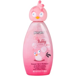 EP Line Angry Birds Cute Bubbly Shampoo And Shower Gel 2 in 1  300 ml