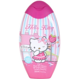 EP Line Hello Kitty sprchový gel a šampon 2 v 1  300 ml