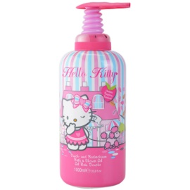 EP Line Hello Kitty pena za kopel in gel za prhanje 2v1 za otroke  1000 ml