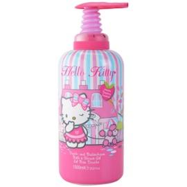 EP Line Hello Kitty habfürdő és tusfürdő gél 2 in 1 gyermekeknek  1000 ml