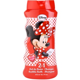 EP Line Disney Minnie Mouse šampon in gel za prhanje 2v1  475 ml