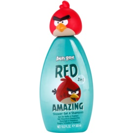 EP Line Angry Birds Red Amazing gel de duche e champô 2 em 1  300 ml