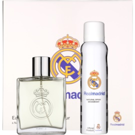 EP Line Real Madrid dárková sada I. toaletní voda 100 ml + deodorant ve spreji 150 ml