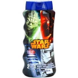 EP Line Star Wars Shampoo And Foam Into The Bath  475 ml