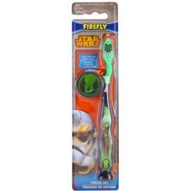 EP Line Star Wars zubní kartáček pro děti s cestovní krytkou