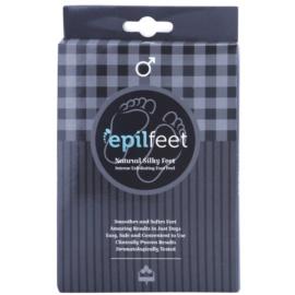Epilfeet Men eksfoliacijske nogavice za mehčanje in vlaženje kože stopal