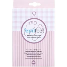 Epilfeet Women sosete exfoliante pentru hidratarea picioarelor