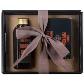 Erbario Toscano Black Pepper darčeková sada II.  sprchový gel 125 ml + mydlo 140 g