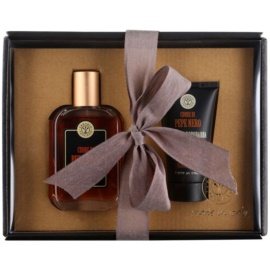 Erbario Toscano Black Pepper Gift Set III  Eau De Parfum 50 ml + Aftershave Balm 30 ml
