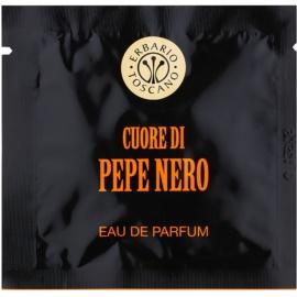 Erbario Toscano Black Pepper toallitas perfumadas para hombre 7 ud