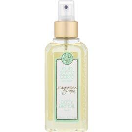 Erbario Toscano Primavera Toscana suchý tělový olej s hydratačním účinkem  125 ml
