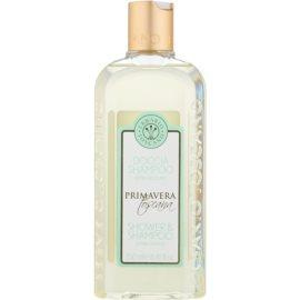 Erbario Toscano Primavera Toscana extra jemný sprchový gél a šampón 2 v 1  250 ml