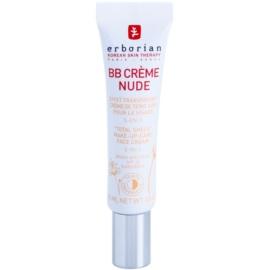 Erborian BB Cream loção tonificante para uma pele perfeita SPF 20 embalagem pequena tom Nude  15 ml