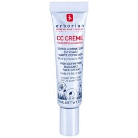 Erborian CC Cream Centella Asiatica posvetlitvena krema za enoten ten kože SPF 25 majhno pakiranje odtenek Clair  15 ml