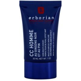 Erborian CC Cream Men crema hidratante unificadora del tono con efecto matificante SPF 25  30 ml