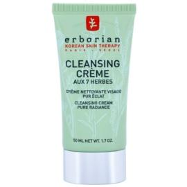 Erborian Detox 7 Herbs čisticí krém pro rozjasnění pleti  50 ml