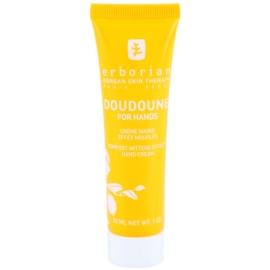 Erborian Yuza Doudoune ochranný krém na ruky pre jemnú a hladkú pokožku  30 ml