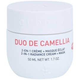 Erborian Cammelia Radiance Cream and Mask 2 In 1  50 ml