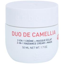 Erborian Cammelia crema y mascarilla iluminadoras 2 en 1  50 ml