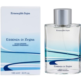 Ermenegildo Zegna Essenza Di Zegna Acqua D'Estate Summer Fragrance 2008 Eau de Toilette für Herren 100 ml