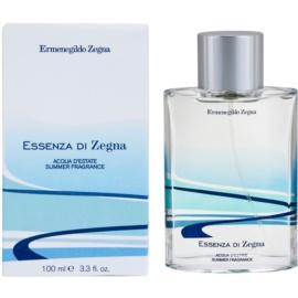Ermenegildo Zegna Essenza Di Zegna Acqua D'Estate Summer Fragrance 2008 Eau de Toilette für Herren 100 ml