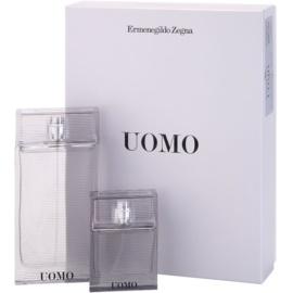 Ermenegildo Zegna Uomo confezione regalo I  eau de toilette 100 ml + eau de toilette 30 ml