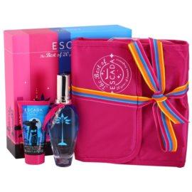 Escada Island Kiss 2011 set cadou I. Apa de Toaleta 50 ml + Lotiune de corp 50 ml + geanta cosmetice
