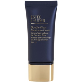 Estée Lauder Double Wear Maximum Cover fedő make-up arcra és testre árnyalat 1N3 Creamy Vanilla SPF 15  30 ml