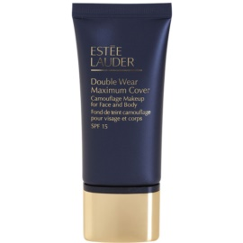 Estée Lauder Double Wear Maximum Cover fedő make-up arcra és testre árnyalat 2C5 Creamy Tan SPF 15  30 ml