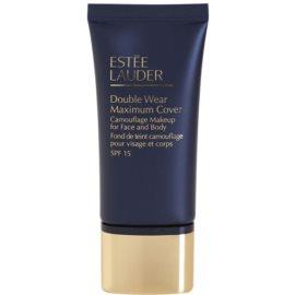 Estée Lauder Double Wear Maximum Cover krycí make-up na obličej a tělo odstín 2C5 Creamy Tan SPF 15  30 ml